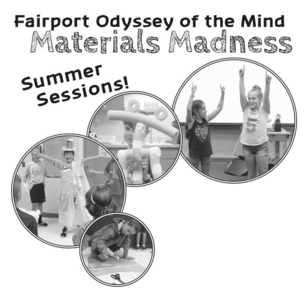 Fairport Odyssey of the Mind, Material Madness Summer Sessions